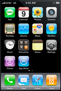 Default Dock Apps